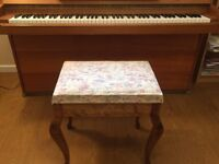 Piano Stool with Music Storage
