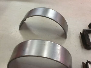 "New trailer wheel fender 32x9""""steel"