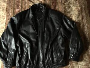 Manteau de cuir Moores