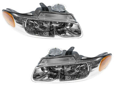 Headlight for 1996 - 1999 Grand Caravan Voyager Town Country Van Pair Set Country Plymouth Voyager Vans