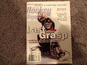 Hockey Digest Magazine January 2001
