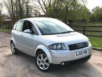 Audi A2 1.6 FSI 2005 SE 5 Door MOT September 2017