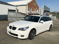 2007 ESTATE AUTOMATIC BMW 530 D ( CHEAP PART EXCHANGE TO CLEAR )