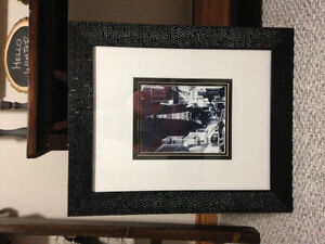 Framed picture of Paris- REDUCED PRICE