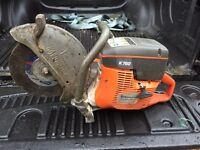 Husqvarna k760 cut off saw, stihl saw
