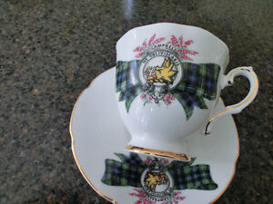 """CAMPBELL""Fine Bone China Cup and Saucer"