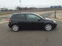 "VOLKSWAGEN GOLF 1.4 TSI GT 3 DOOR 2009 ""59"" REG 47,000 MILES 160 BHP FACTORY BLACK METALLIC"