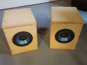 8 inch Kenwood subwoofers