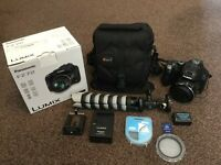 Panasonic FZ72 digital camera as new condition!! With extras.
