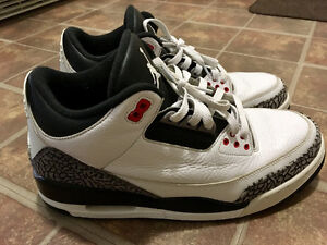 Men's Air Jordan 3 Retro infrared shoes