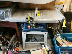 "Rona 10"" table saw"