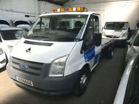 2007 Ford Transit 2.4TDCi 100PS 350 MWB RECOVERY TRUCK WINCH RAMPS VAT INCL