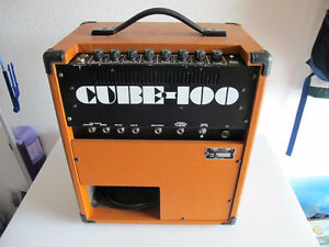 Roland Cube 100 Guitar Combo Amp. - Vintage Works Great
