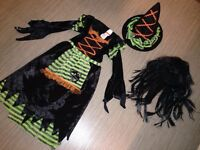 Size 4-6 adorable witch costume