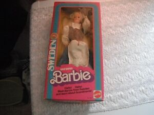 Barbies - Three Like New Character Dolls in Original Packaging