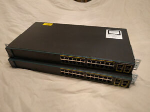 Cisco Catalyst 24-port WS-C2960-24TC-L switch (2 available)