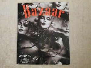 MADONNA-US Harper's Bazaar Magazine(2/2017)Collector's Édition.