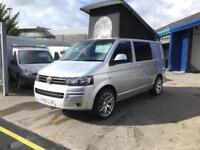 2012 1 owner silver Volkswagen transporter T5 camper van HLINE 140 TDI air con