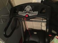 Powertrek electric treadmill
