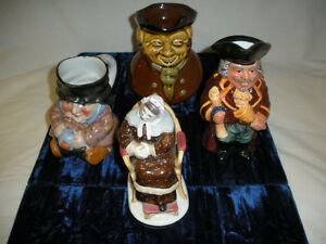 """FIGURINES - """"CHARACTERS"""" - """"MELBAWARE"""", Porcelain **"""