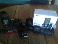 Canon 70D Camera/Lens Package Deal