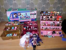 Massive LOL surprise bundle camper van,dolls, accessories