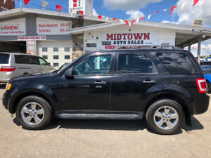 2009 Ford Escape XLT awd leather