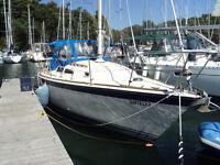 28ft O'Day Sailboat