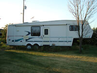 1998 JAYCO DESIGNER 5th WHEEL TRAVEL TRAILER