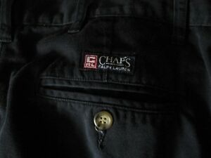 Chaps Ralph Lauren navy blue pants West Island Greater Montréal image 4