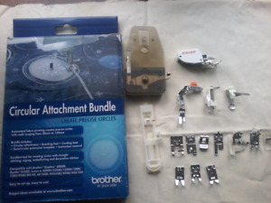 Sewing feet and attachments