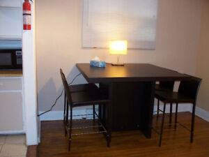 kitchen table and 4 chairs!