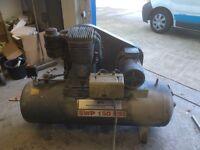 10HP AIR COMPRESSOR 250 LTR RECEIVER 415V
