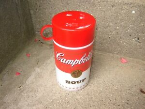 ANTIQUE CAMPBELL'S SOUP METAL TRAY, MUGS,THERMOS& METAL PICTURE London Ontario image 5