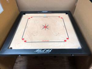 Black Ash Tournament Carrom Board $190 indian birchwood 41X41