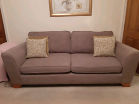 3 seater sofa & 2chairs