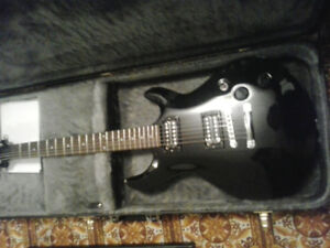 Cort Electric, with hard case, barely played
