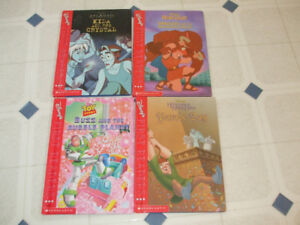 4 Disney Books