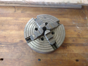 Lathe chuck 10in 4jaw