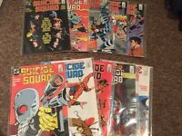 Suicide Squad 1-10 First issue 1987