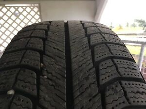 205/70R15 Michelin X-Ice winters on rims