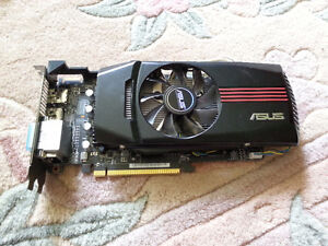 Asus 7850 1GB Video Card - Box and All, Never Overclocked