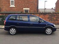 1.8 Vauxhall Zafira. Cheap 7 seater!