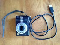 Broken Lumix digital camera. Could possibly be used for parts