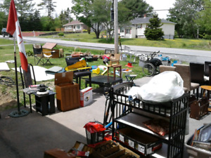 Sunday Garage sale  inside and outside