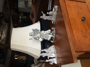 If reading available. Seagull Pewter Christmas decorations