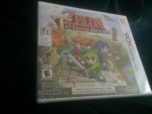 Brand New Zelda Tri force Heroes Sealed