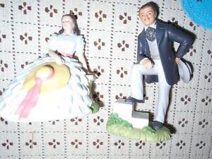 Porcelain Rhett Butler and Scarlett O'Hara