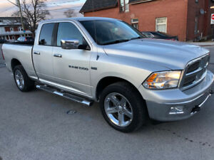 2011  Dodge ram Big Horn SLT4X4  6 foot box NO RUST