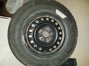 245/65 R17 Avalanche X-treme winter tires with rims!